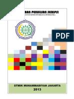 Pedoman Skripsi Terbaru 2015