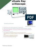 Physic 4.1 Cathode Ray Oscilloscope