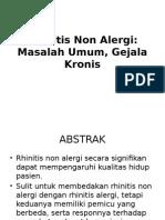 Rhinitis Non Alergi PPT Dr.darman