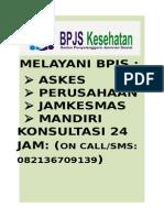 MELAYANI BPJS