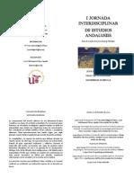 I Jornada Interdisciplinar de Estudios Andalusíes (US)