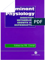 Ruminant Physiology Digestion Metabolism, Growth