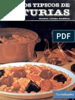 Platos Tipicos de Asturias - Maria Luisa Garcia