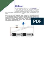 Rangkaian LED Dasar
