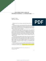Journal of Management Education 2006 Alsop 11 4