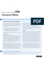 2014 IET Membership Application Guidance Notes
