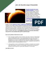 Efectele Negative Ale Soarelui Asupra Pamantului