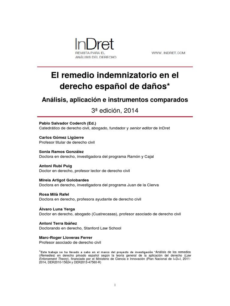 Remedio - Daños - 2014