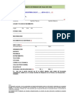 Dc3fed68 Nuevo Formato Estandar de Hoja de Vida
