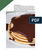Receta Tortitas Americanas