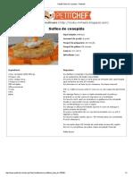 Rețetă Sufleu de Conopida - Petitchef