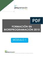 Modulo 1 Bioreprogramación