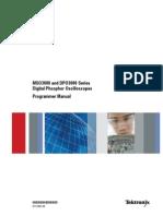 MSO3000 DPO3000 Programmer Manual 077 0301 00