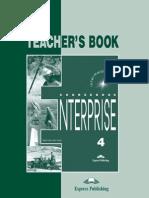 Enterprise 4 Teacher's Book