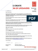 Letter Re CPR Day