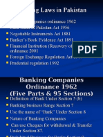 Banking Laws in Pakistan