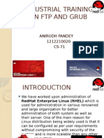 Industrial PPT on LInux BY ANIRUDH PANDEy