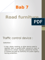 Road Furniture ppt