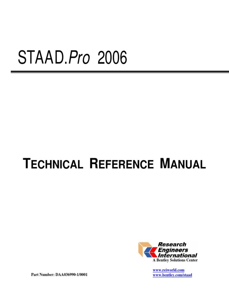 staad bentlytechnical reference cartesian coordinate system bending rh es scribd com staad/pro (v8i) technical reference manual pages--18 through 29 2013 2014 Cod Technical Reference
