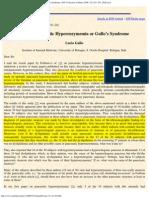 Gullo L. Benign Pancreatic Hyperenzymemia or Gullo's Syndrome. JOP. J Pancre