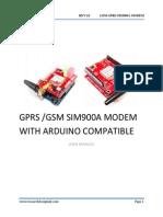 GPRS GSM SIM900A MODEM With Aurdino Compatible