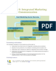 Study on Marketing communications in the Food and Agribusiness Sector
