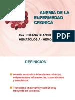 Anemia de La Enfermedad Cronica