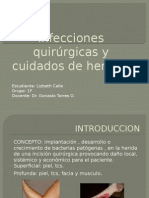 Infecciones Quirúrgicas y Cuidados de Heridas