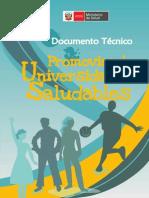 Promocion de universidades saludables