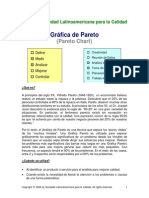 Diagramas de Pareto y Radar