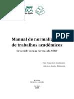 Manual ABNT 2015 Novo Pro Reitor