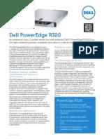 Dell PowerEdge R320 Spec Sheet