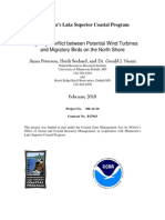 Mitigating Conflict between Potential Wind Turbines and Migratory Birds on the North Shore (306-12-10)