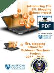 Blogging School Project Description