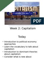 Lecture 2 Capitalism ARTS1752