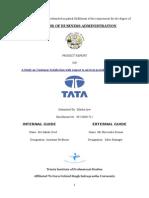 Project Report on Tata Motors
