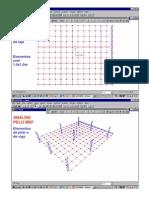Lajes Fungiformes - Análise Pelo SAP2000
