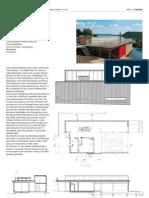 Fishery Building in Ligerz, Switzerland