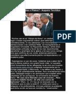 Bergoglio Judas o Pilatos - Augusto TorchSon