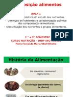 Aula 1- Perspectiva Histórica Do Estudo Dos Nutrientes