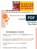 Bpr Implementation @ Ongc