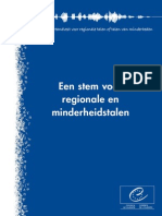 Europees Handvest voor regionale talen of talen van minderheden