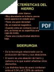CARACTERÍSTICAS DEL HIERRO