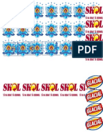 Fichas de Cervejas para imprimir