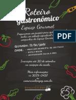 Roteiro Gastronomico 2015