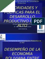 Desarrollo Productivo