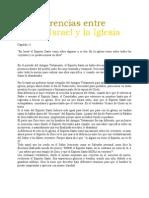 25 Dif Entre Israel y La Iglesia