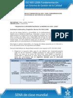 Desarrollo Actividad de Aprendizaje Unidad 3 Requisitos e Interpretacion de La Norma ISO 90012008