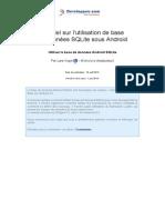 Larsvogel Sqlite Database Android