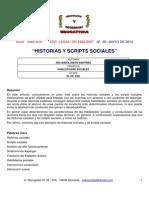 Historias y Scripts Sociales